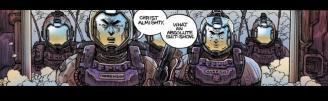 Sphacteria crew members, Alien: Dead Orbit